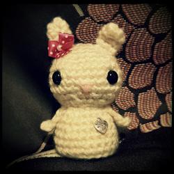 Bunny Kokeshi Doll