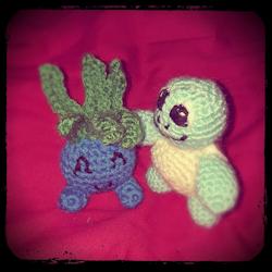 Pokémon: Oddish & Squirtle